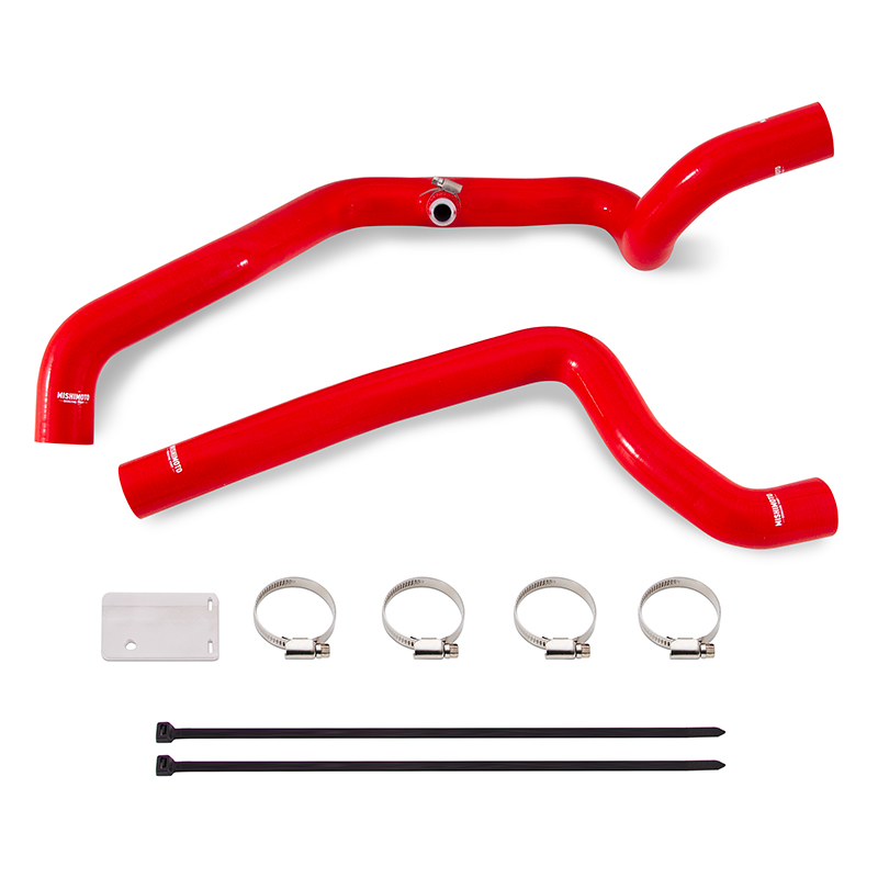 Mishimoto MMHOSE-WR6-91BL Silicone Radiator Hose Kit Compatible With Jeep Wrangler YJ 1997-2006 Blue