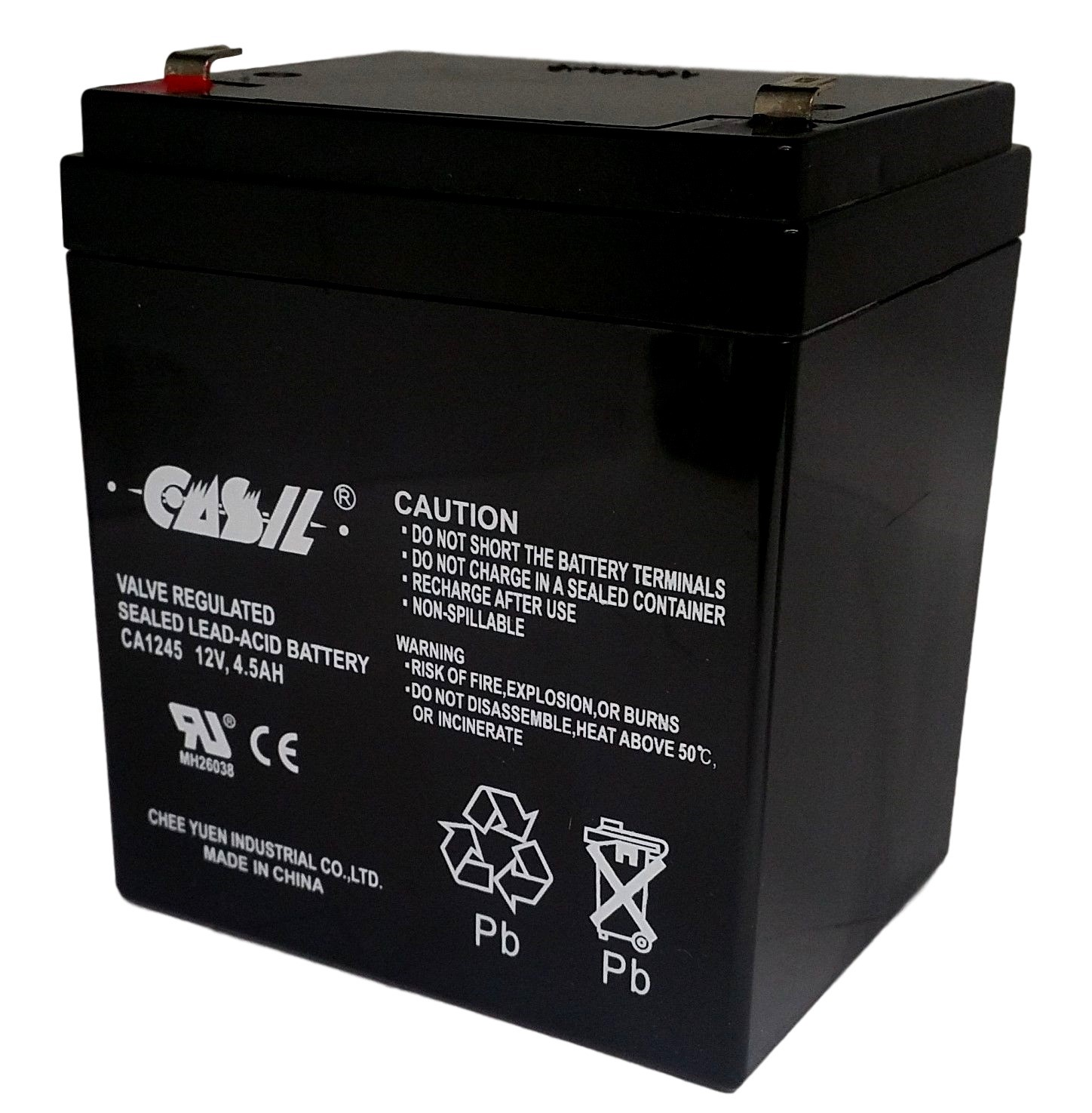 casil 12v replacement battery for liftmaster 3850. Black Bedroom Furniture Sets. Home Design Ideas