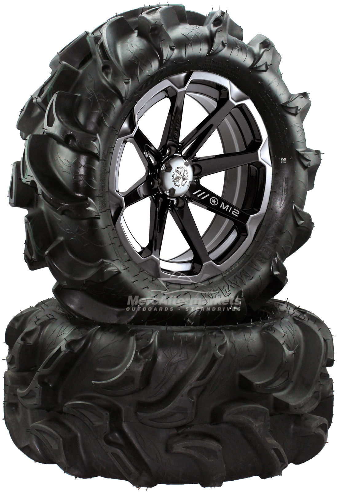 Msa M12 Diesel 14 Atv Wheels 27 Itp Mega Mayhem Tires Honda