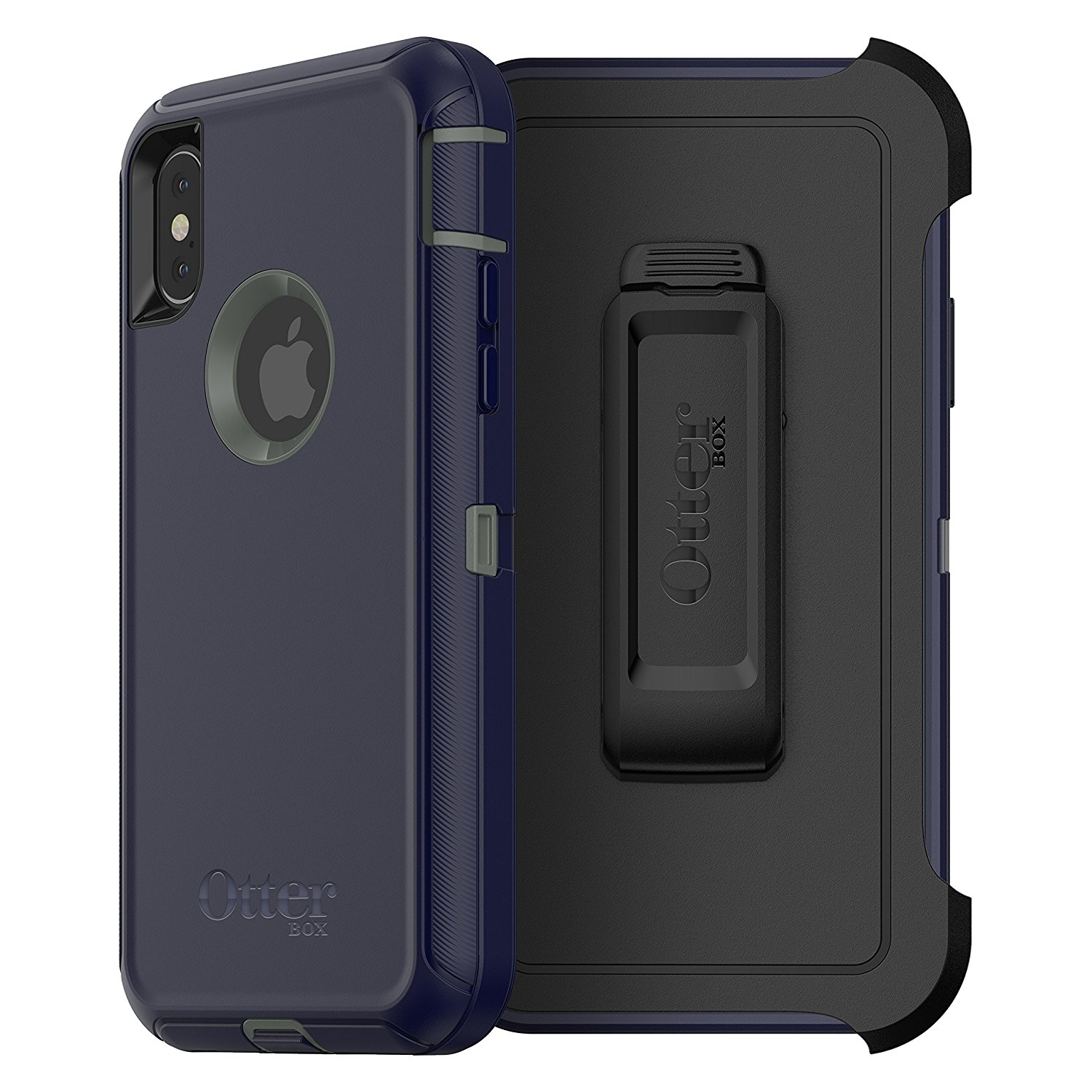 OtterBox-Defender-iPhone-Xs-X-Screenless-Case-Holster-Port-Covers-All-Colours-VS thumbnail 9