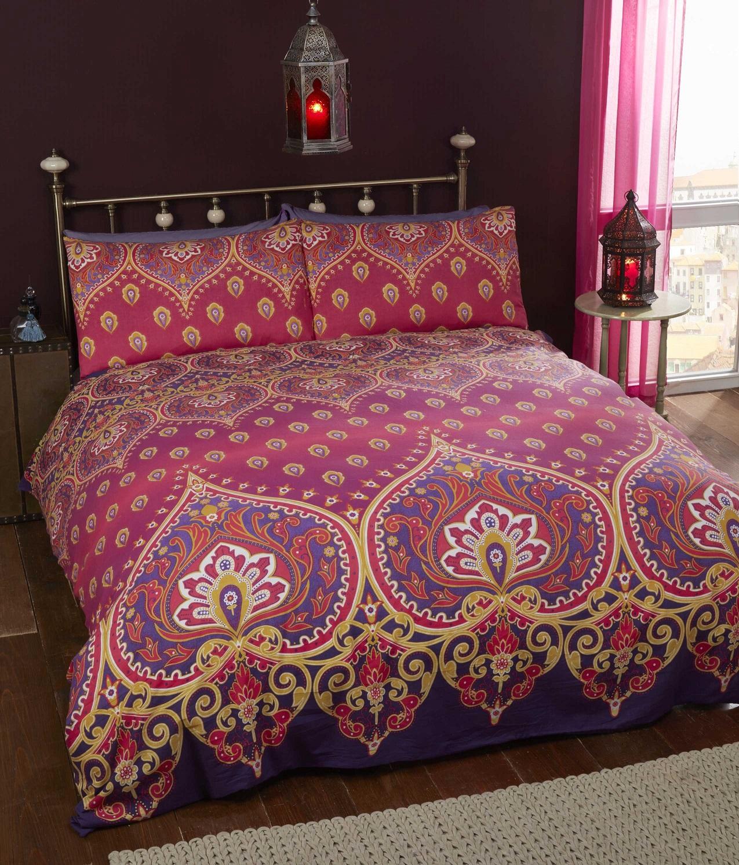 Luxury Indian Ethnic Duvet Quilt Cover Bedding Bed Linen ... : ethnic quilt - Adamdwight.com