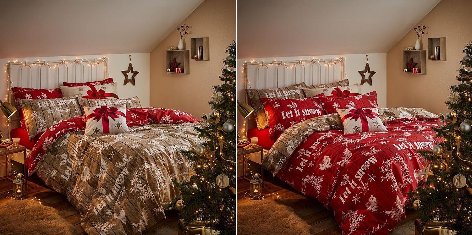 Catherine Lansfield Santa Father Christmas Duvet Quilt