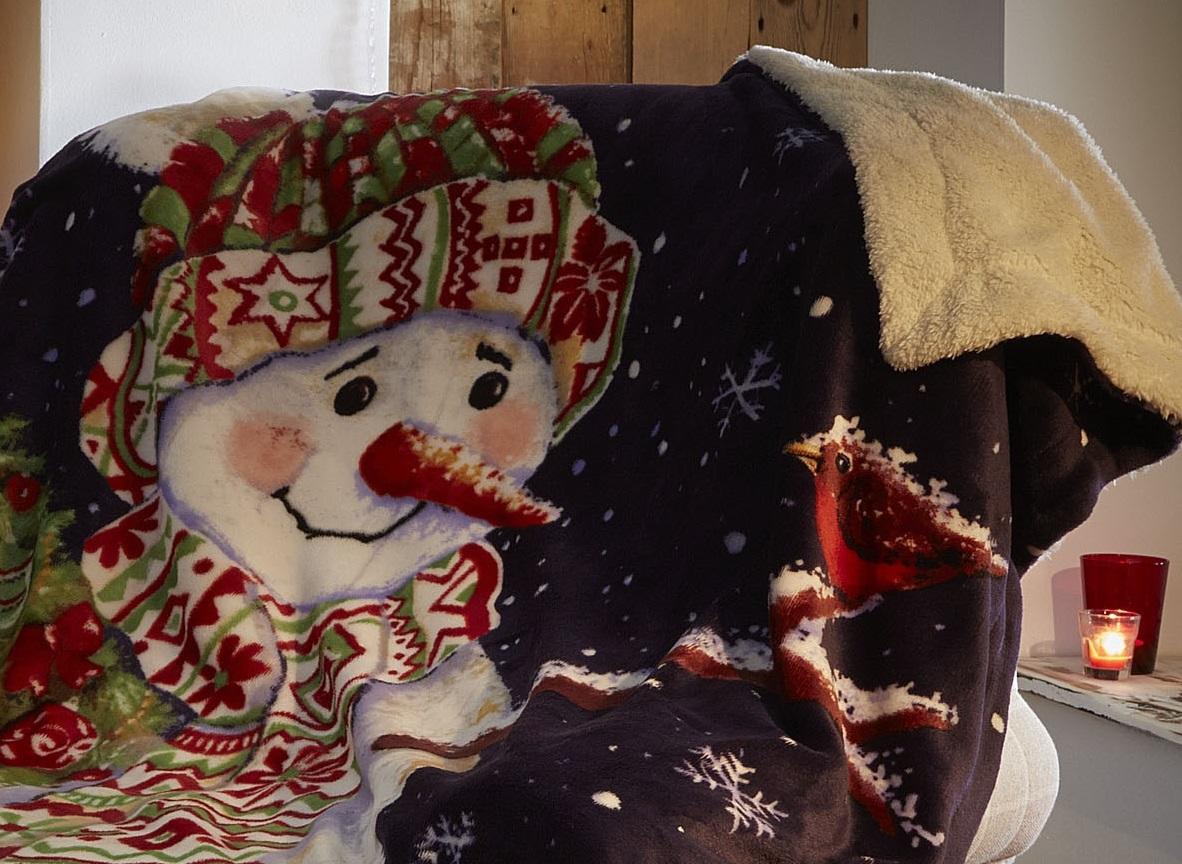 Christmas Fleece Throws