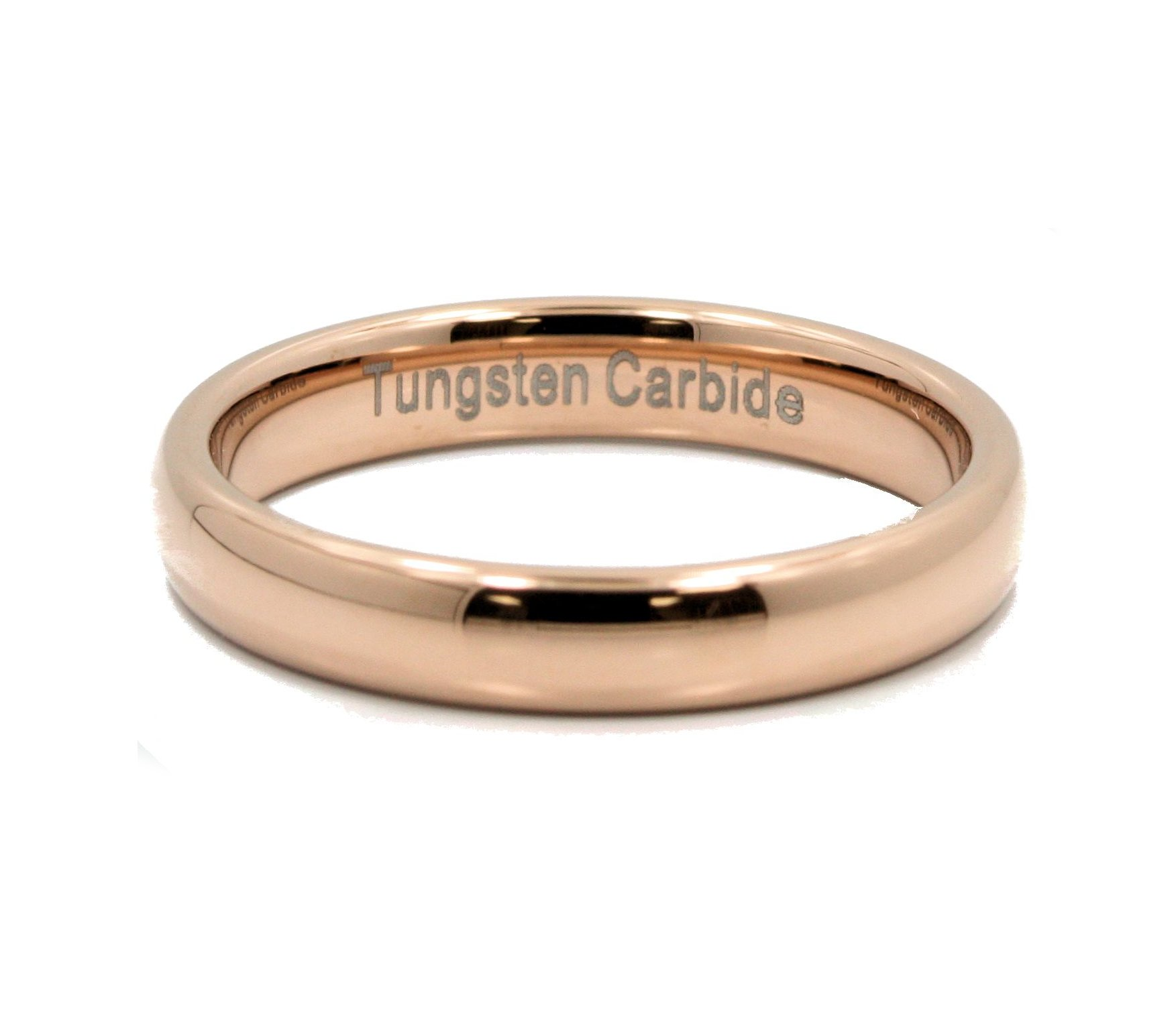 2-3-4-or-6mm-Rose-Gold-Plated-Ring-Tungsten-Carbide-Wedding-Band thumbnail 15