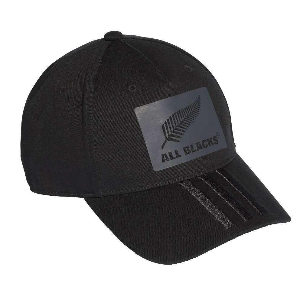 cdb4b2b0eef ADIDAS new zealand all blacks 3-Stripes rugby cap  black