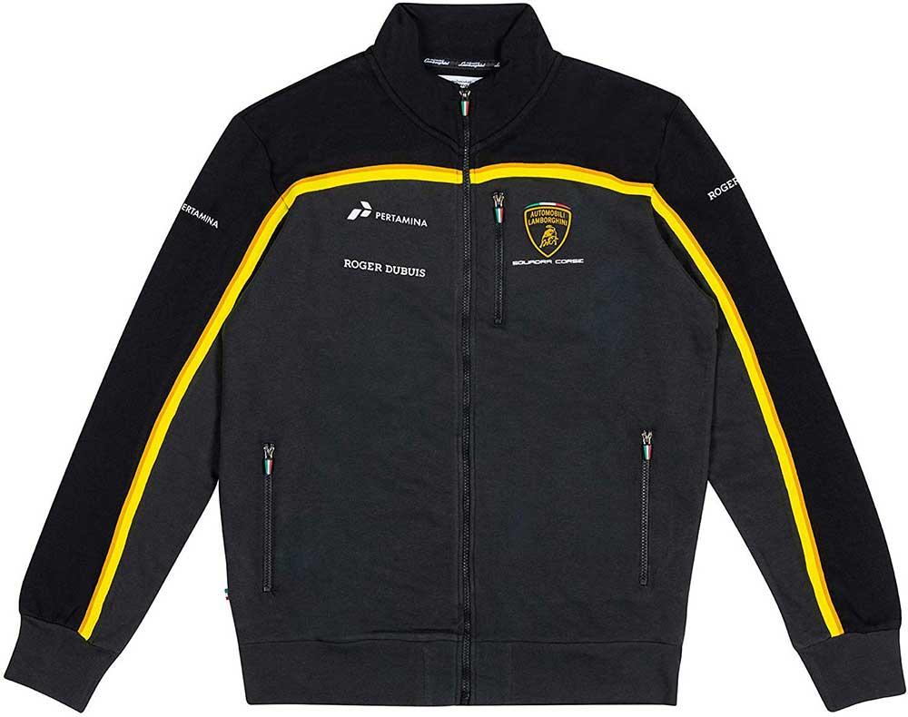 SWEATSHIRT Full Zip Automobili Lamborghini Sportscar Vetture Sportive NEW!