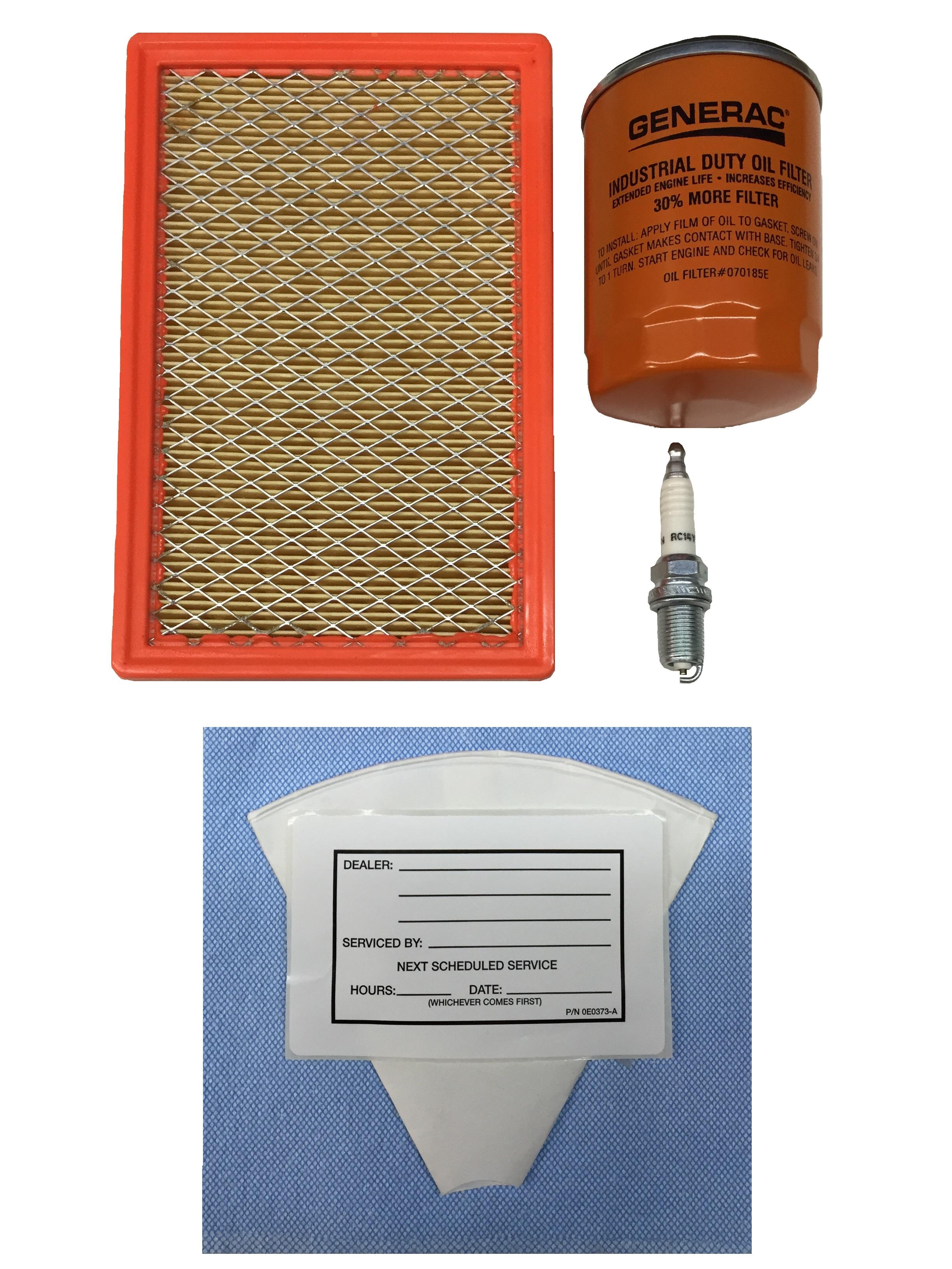 generac maintenance kit 8kw 410cc part 6482 ebay. Black Bedroom Furniture Sets. Home Design Ideas