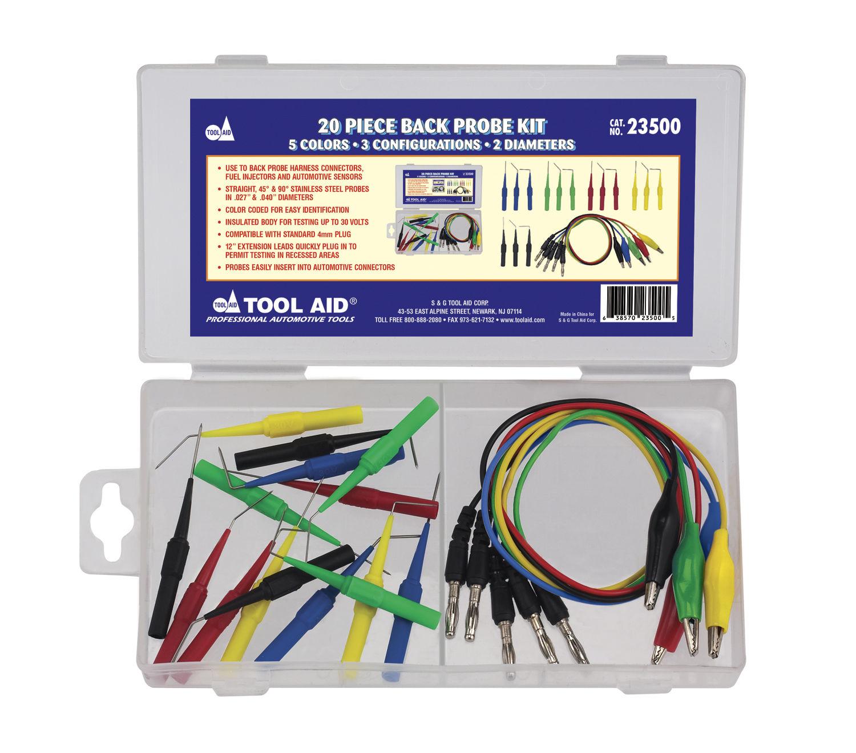 Back Probe Tool : S g tool aid back probe kit ebay