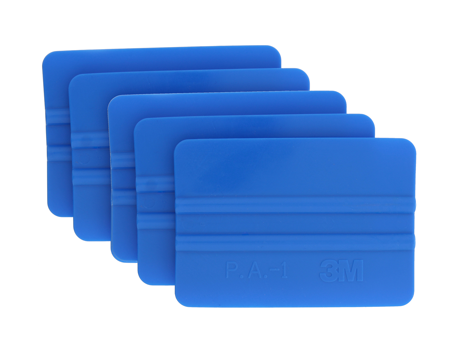 3M 71601 Scotchcal Application Squeegees 5-Pack Blue