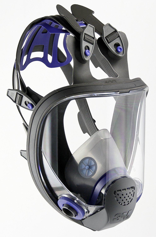 3m fullface respirator mask