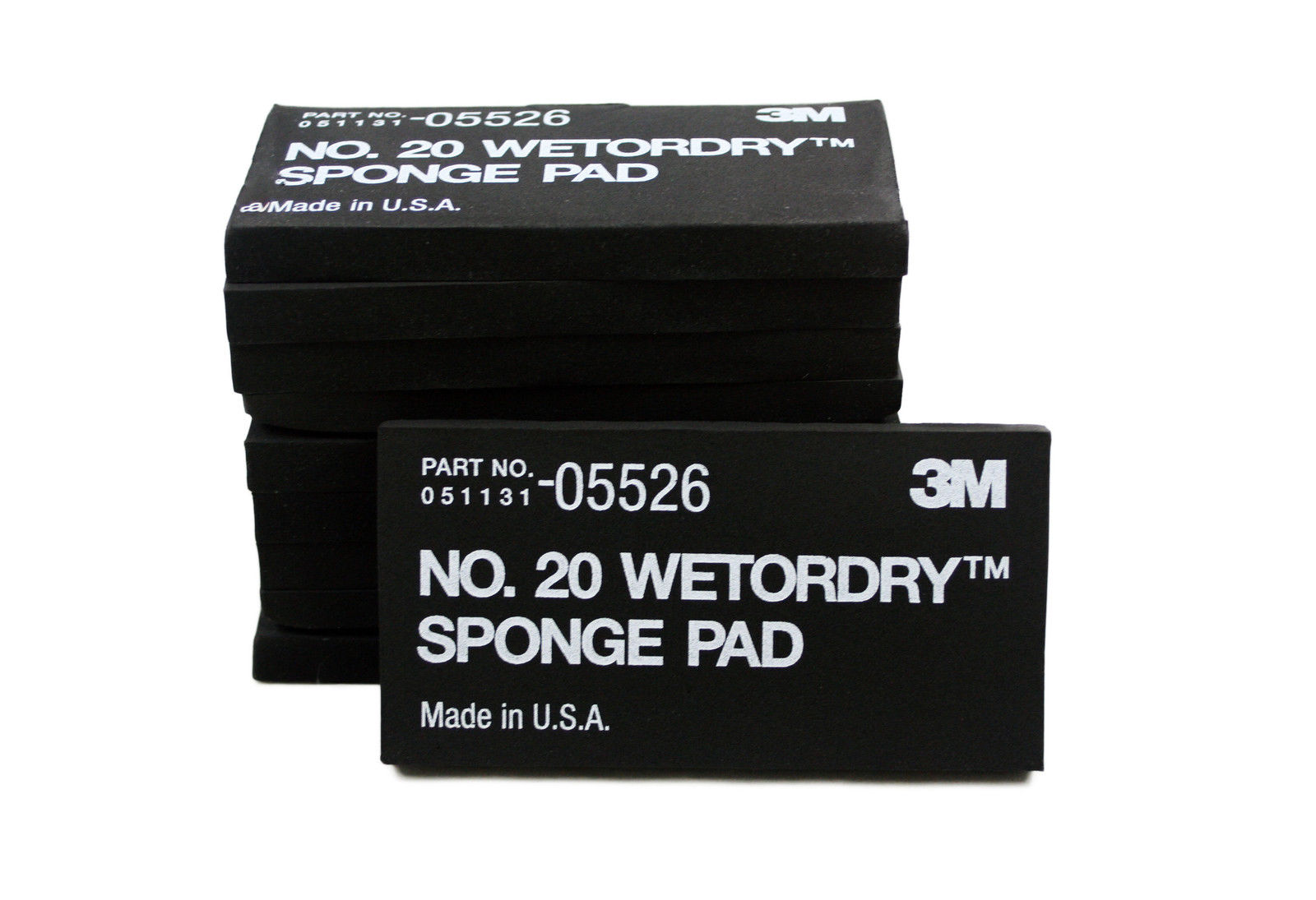 20 3M 05526 WetorDry Sponge Pad No 10-Pack