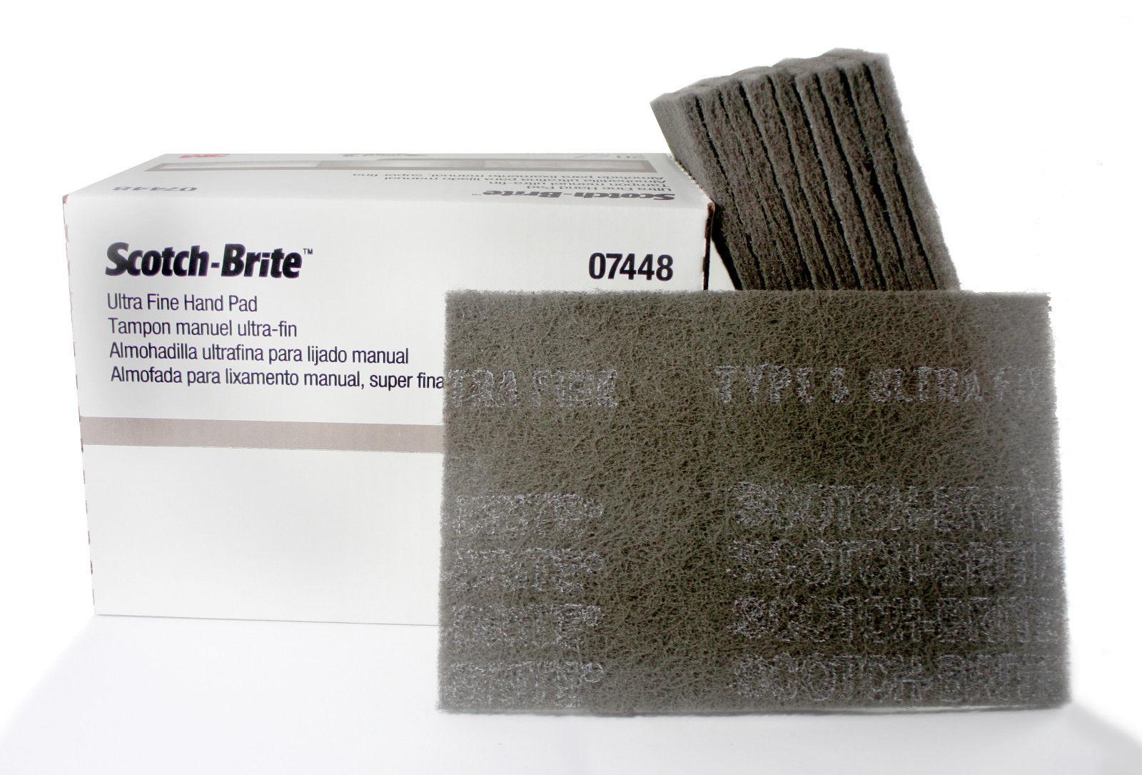 Scotch Brite Ultra Fine Hand Pads