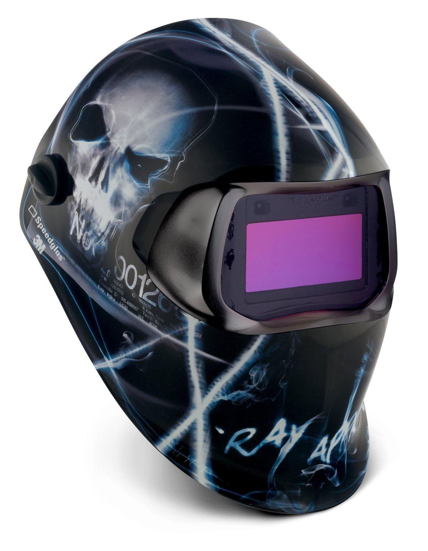3M 49954 Speedglas Razor Dragon Welding Helmet 100 with Auto-Darkening Filter