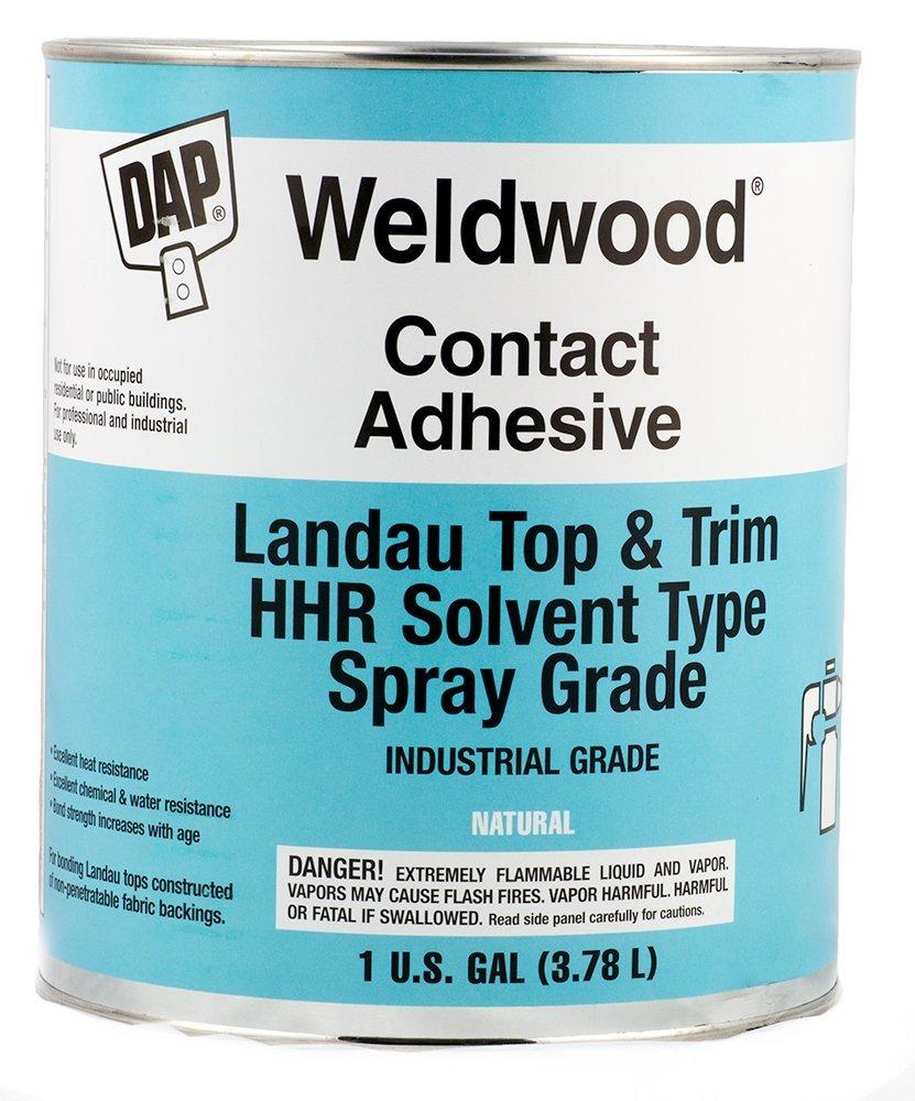 Details about DAP 00233 Weldwood Contact Cement Landau Top & Trim HHR  Solvent Type, 1 Gallon