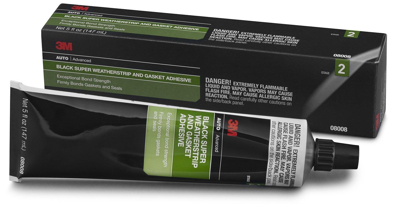 3m 08008 Black Super Weatherstrip And Gasket Adhesive 5
