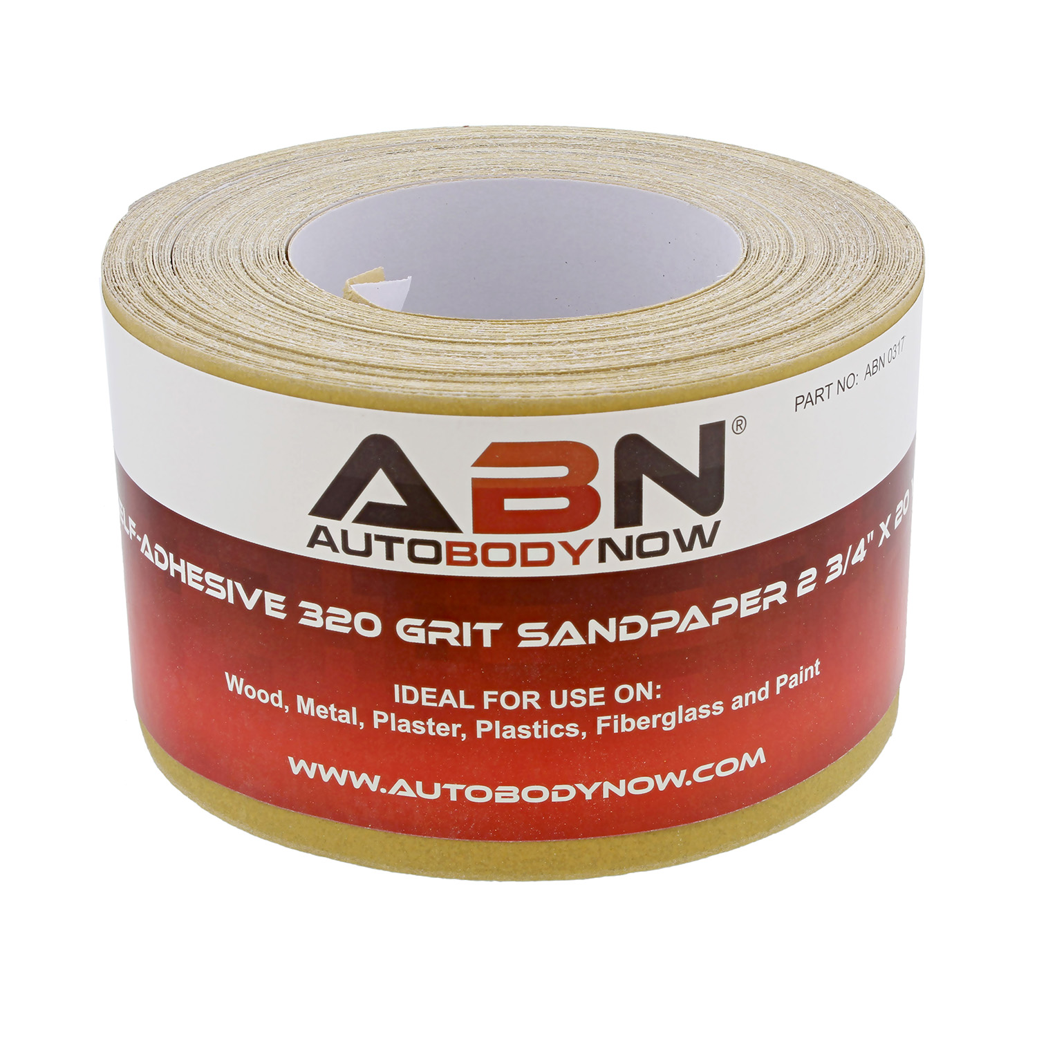 ABN-Adhesive-Sandpaper-Roll-2-3-4-Inch-x-20-Yards-Aluminum-Oxide-PSA thumbnail 28