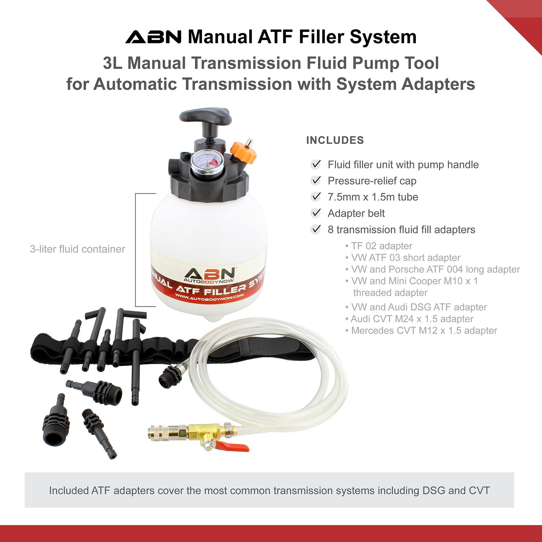 Abn Manual Atf Filler 3l Transmission Fluid Pump For Automatic Transmission Ebay