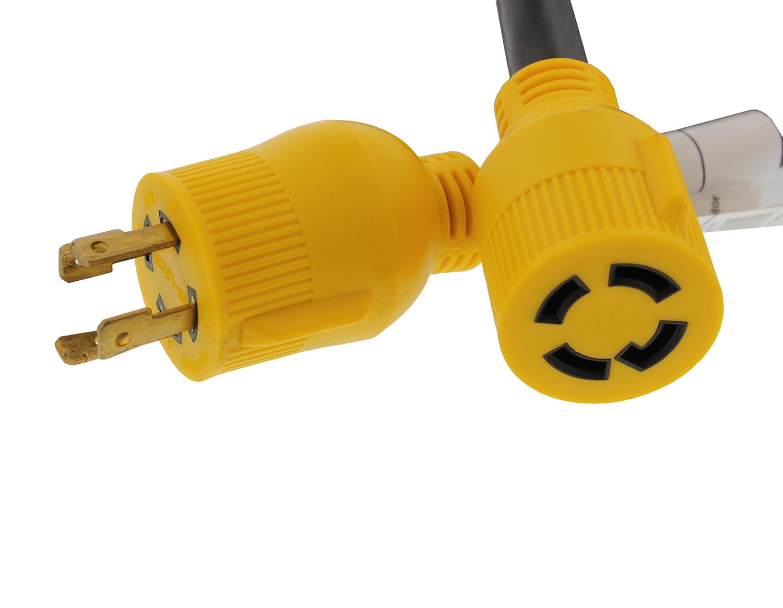 Abn 174 30 Amp Rv Power Cord Generator Transfer Switch Camper