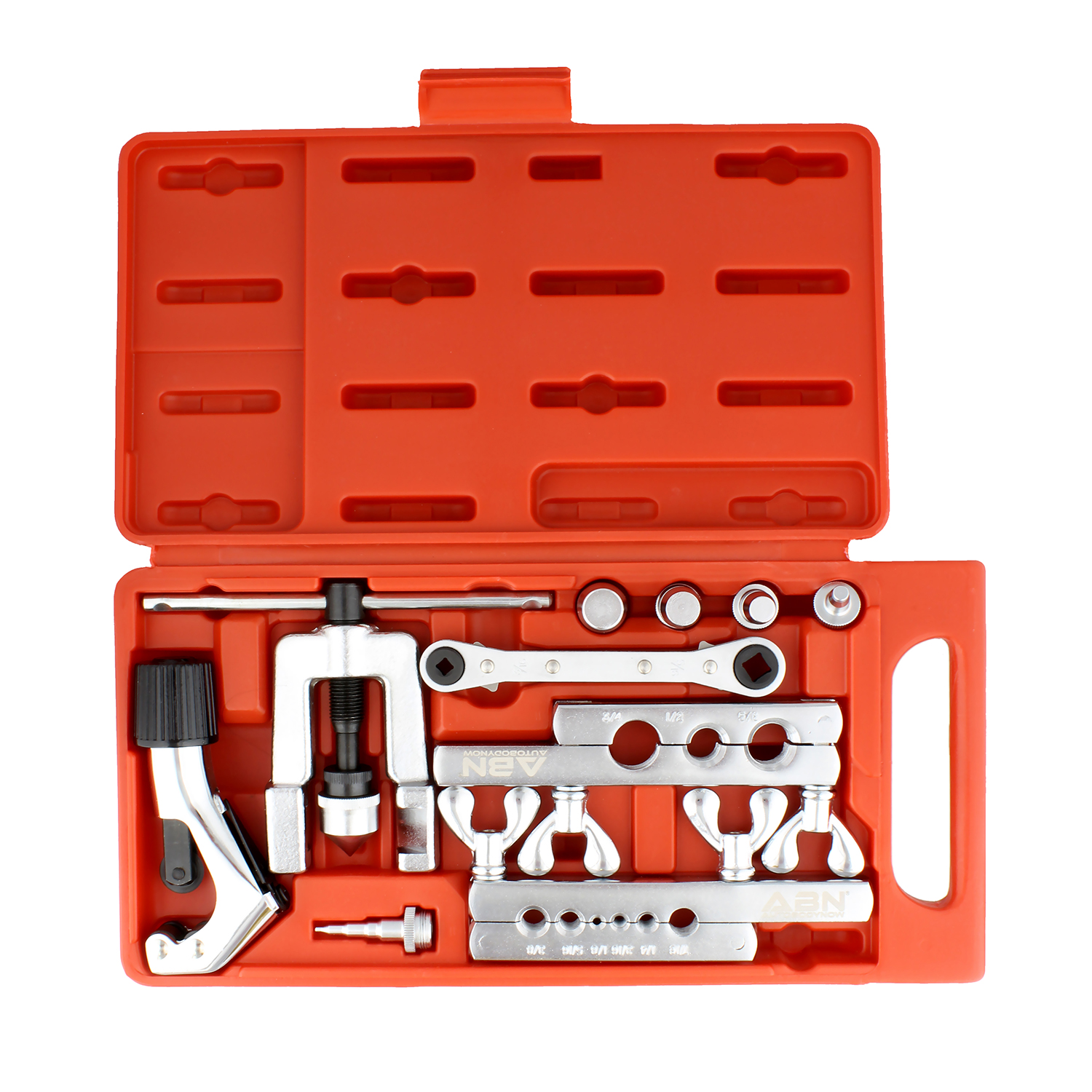 Single or double flares Tube Brake Line Flare Flaring Tool Set With Cutter