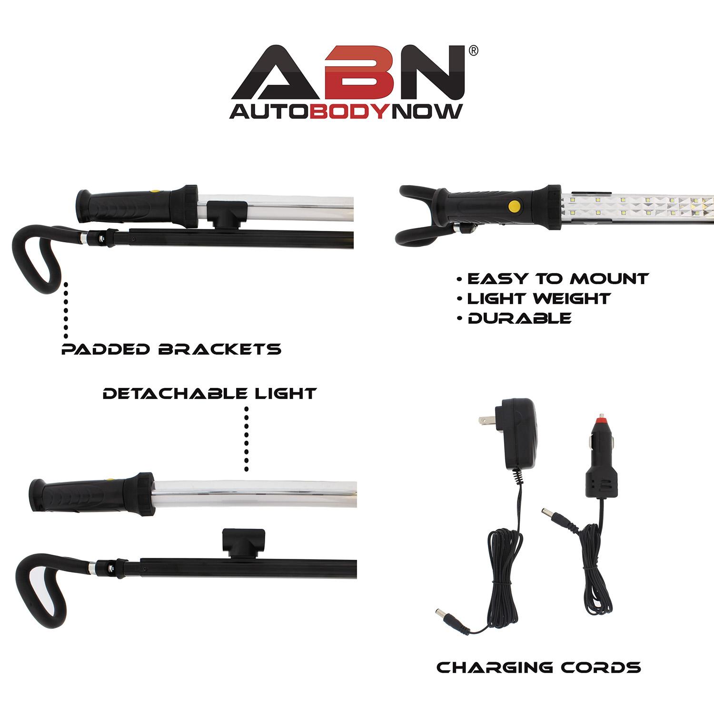 ABNR LED Under Hood Work Light EUR 900L Cordless Rechargeable Rotating Worklight