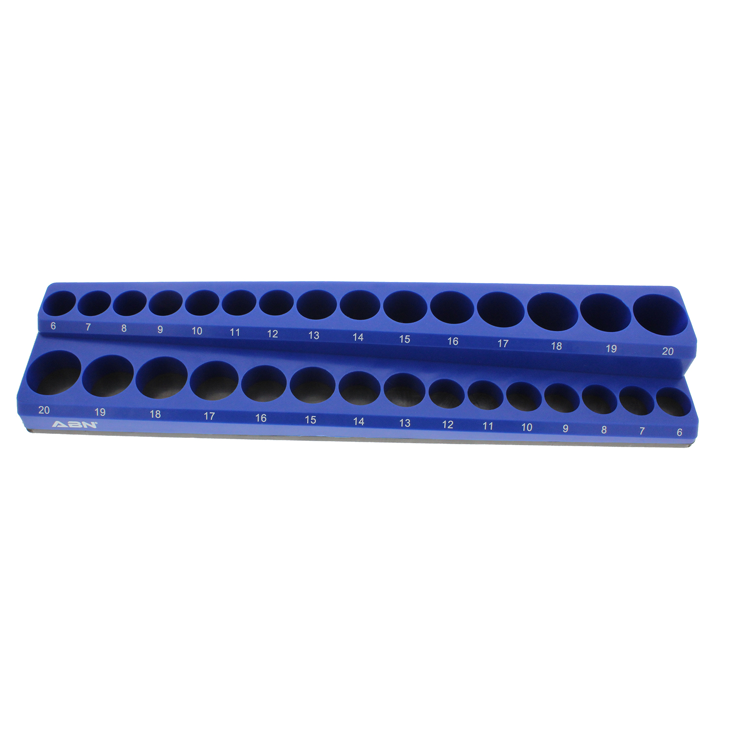 Abn Magnetic Bit Socket Organizer Wall Or Bench Tray
