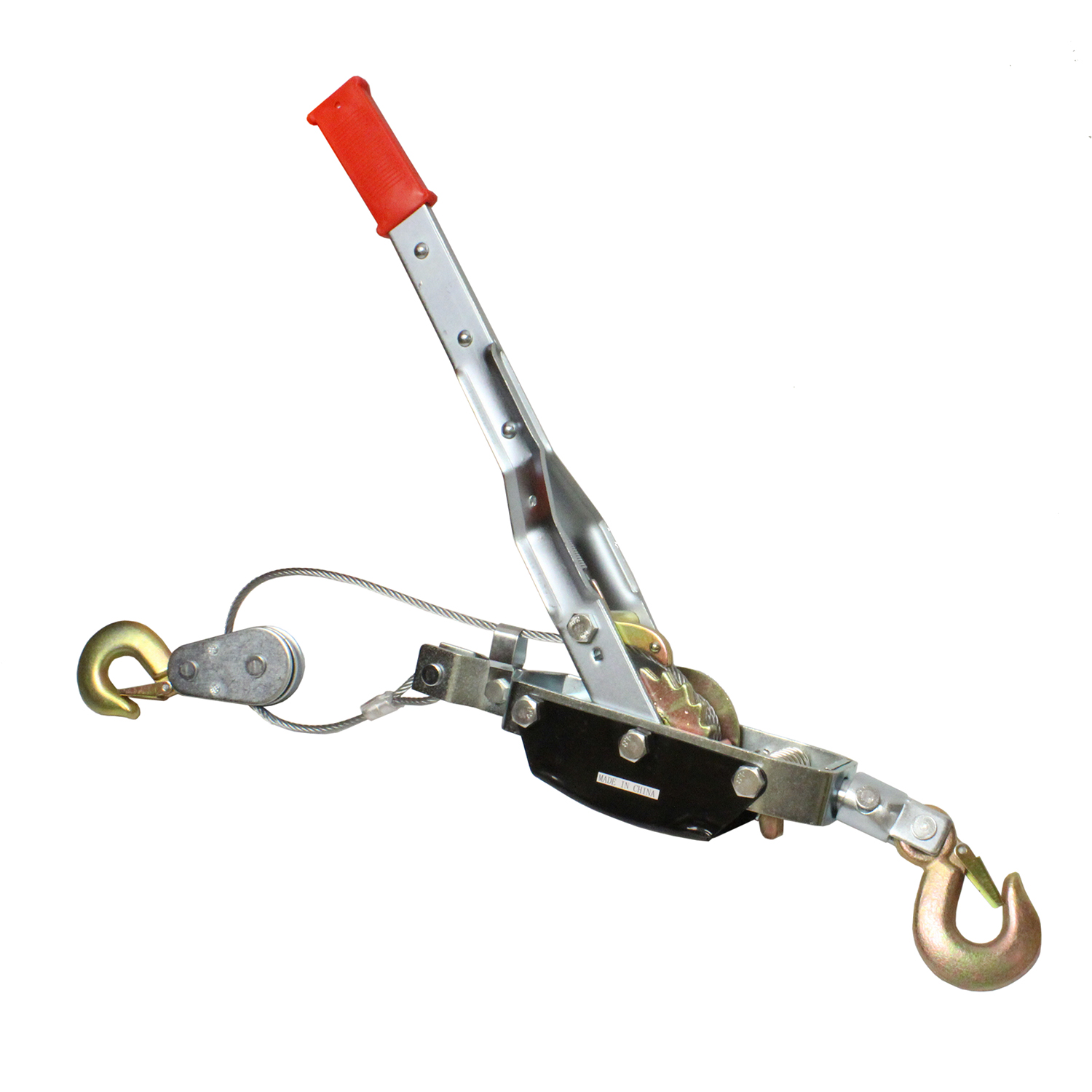 Abn Heavy Duty Hand Puller With Cable Rope And Hooks Come