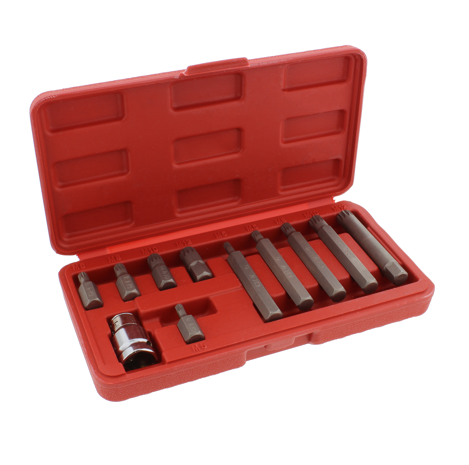 ABN 1275-100 Piece Tamper Security Bit Set Metric and SAE Standard