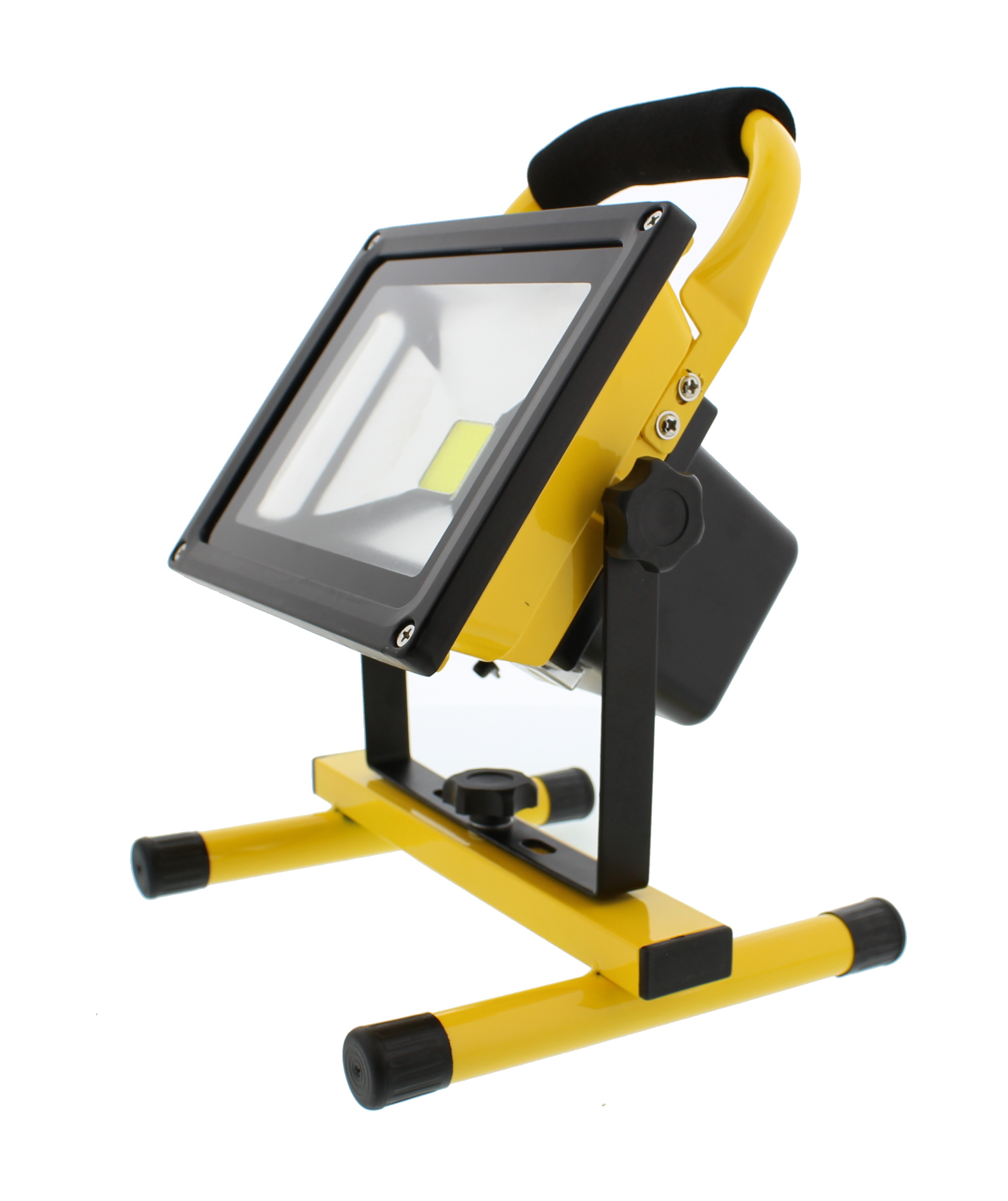 Portable Outdoor 5w Led Rechargeable Work Garage Flood: ABN LED Flood Light 20W Rechargeable Portable Worklight