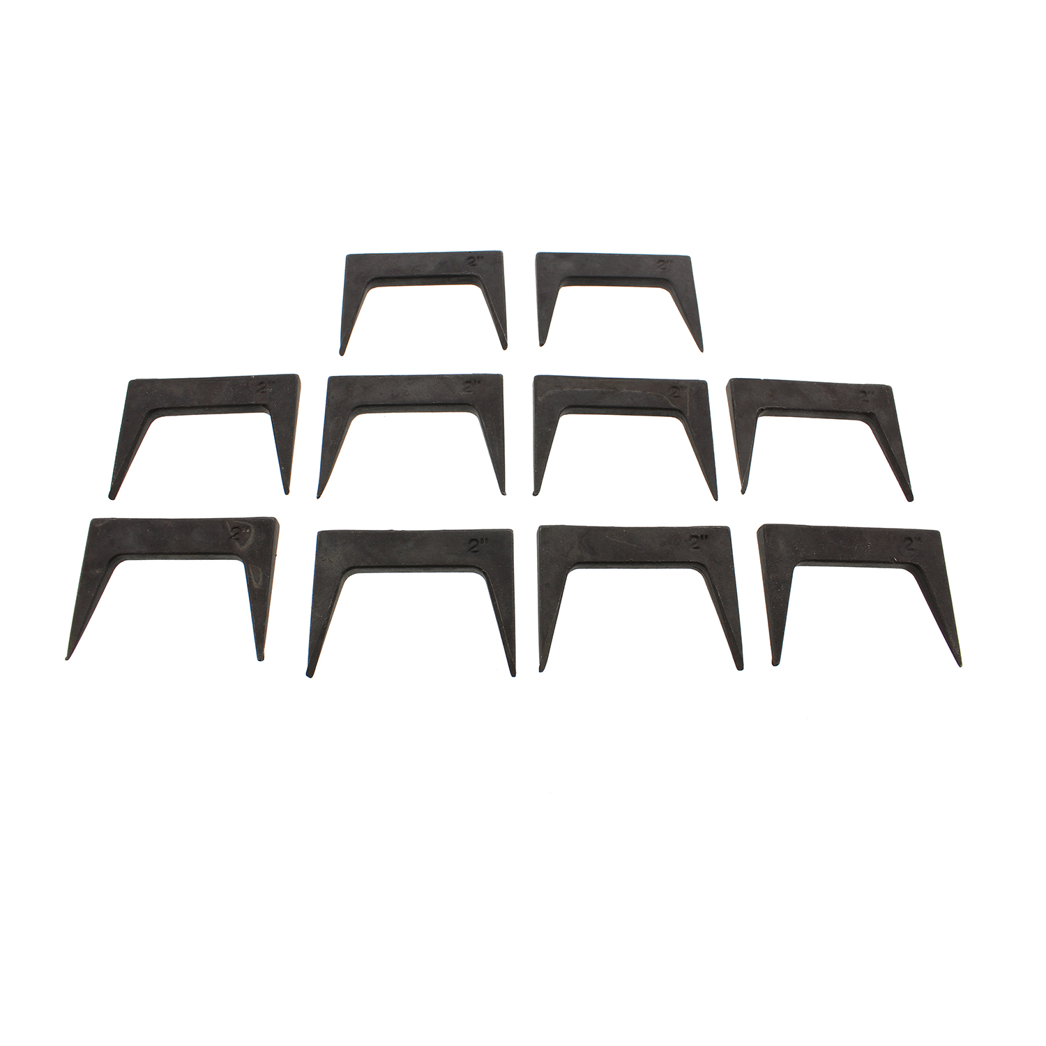 """details about dct wood clamps 2"""" inch pinch dog 10-piece set woodworking  glue up pinch dogs"""