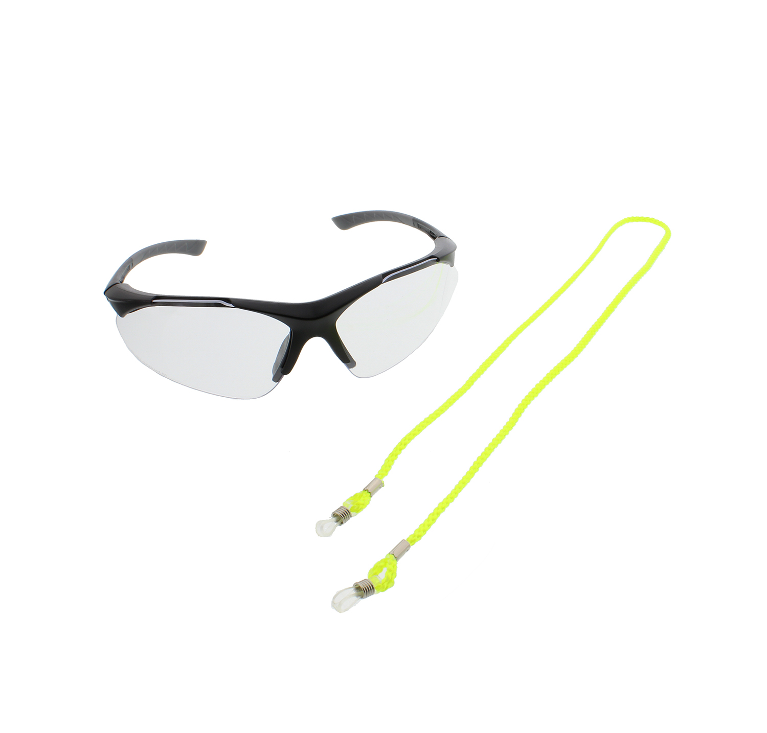 fb7545ade1a Details about Elvex RX-500C-1.5 Full Magnifier Diopter Safety Glasses w   SGC-10-HIVIZ Cord