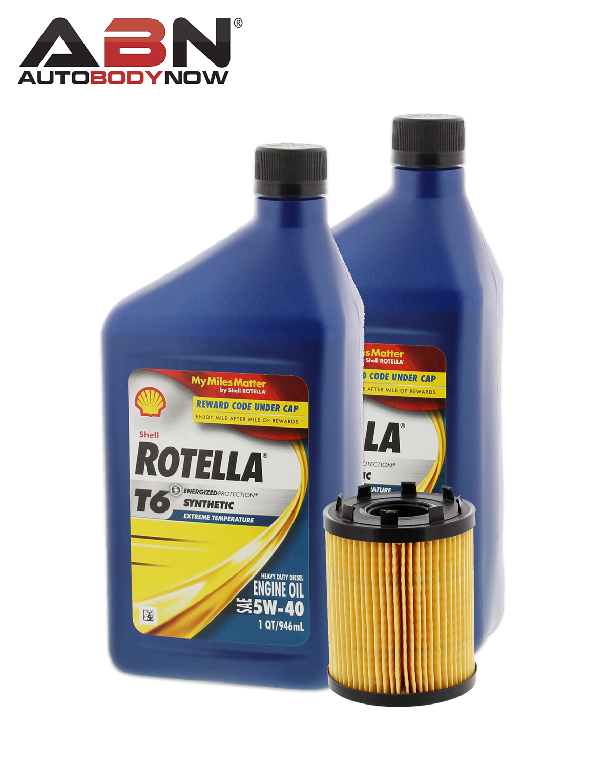 Mopar 68102241aa oil filter shell rotella t6 5w40 for 1 for Shell rotella t6 5w 40 diesel motor oil