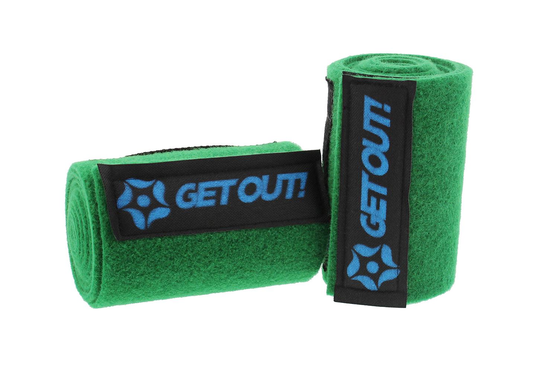Slackline Tree Protector Kit 2 Piece Durable Green Non Slip Felt Wrap Pads New