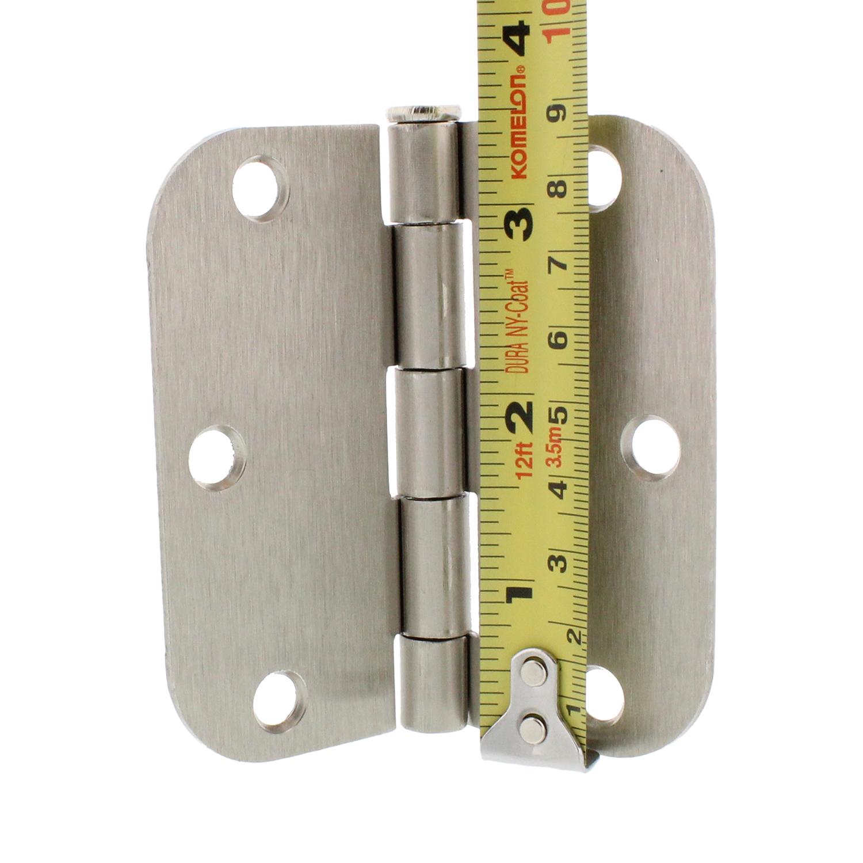 7penn 3 5 Inch Steel Interior Door Hinge Satin Nickel W