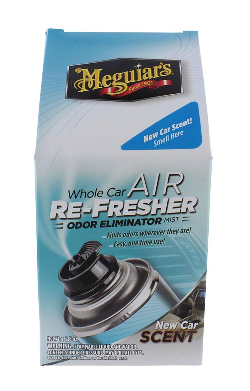 Car Odor Eliminator >> Details About Meguiar S G16402 Air Refresher Odor Eliminator New Car Scent 2 Oz 2 Pack