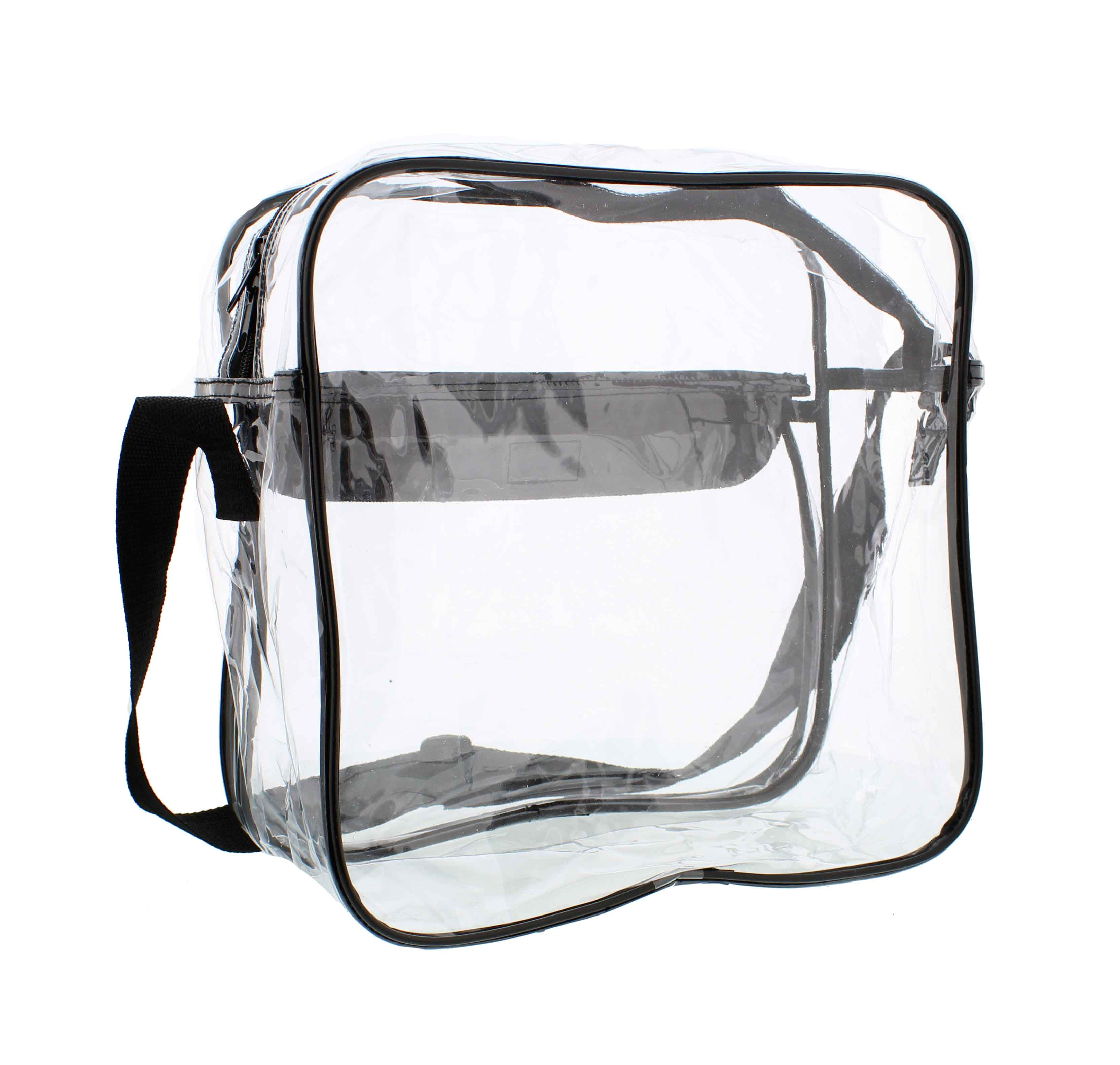 Clear-Purse-NFL-Stadium-Approved-Bag-with-Zipper-and-Shoulder-Strap thumbnail 20