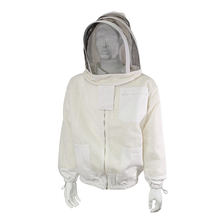 OSFA Rural365 Beekeeping Jacket and Hat Camo Pullover Beekeeping Jacket