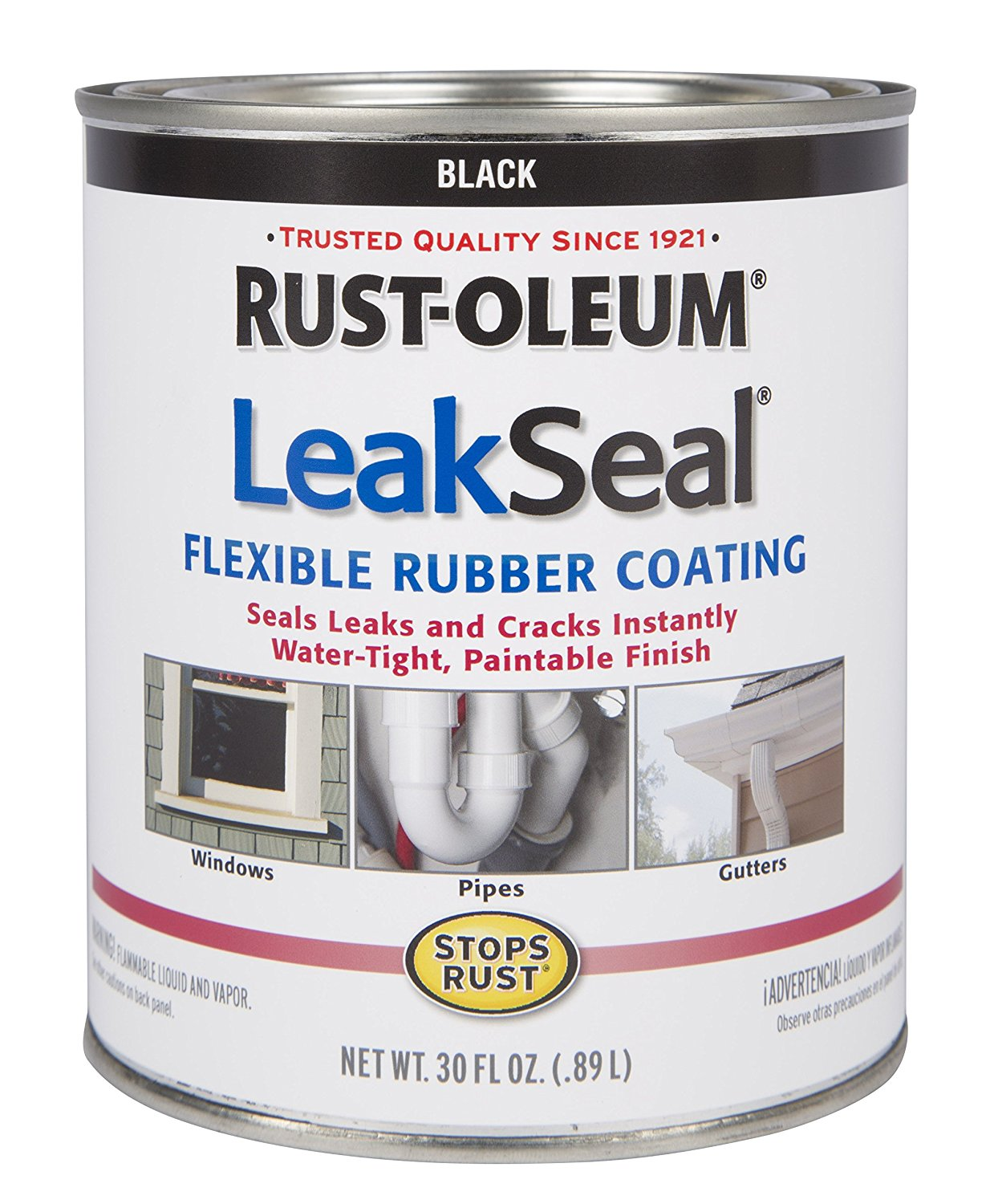 Rust Oleum 271791 Stop Rust Leak Seal Flexible Rubber
