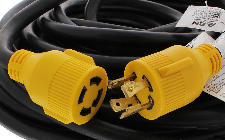 Dumble 30 Amp Rv Power Cord Generator Transfer Switch