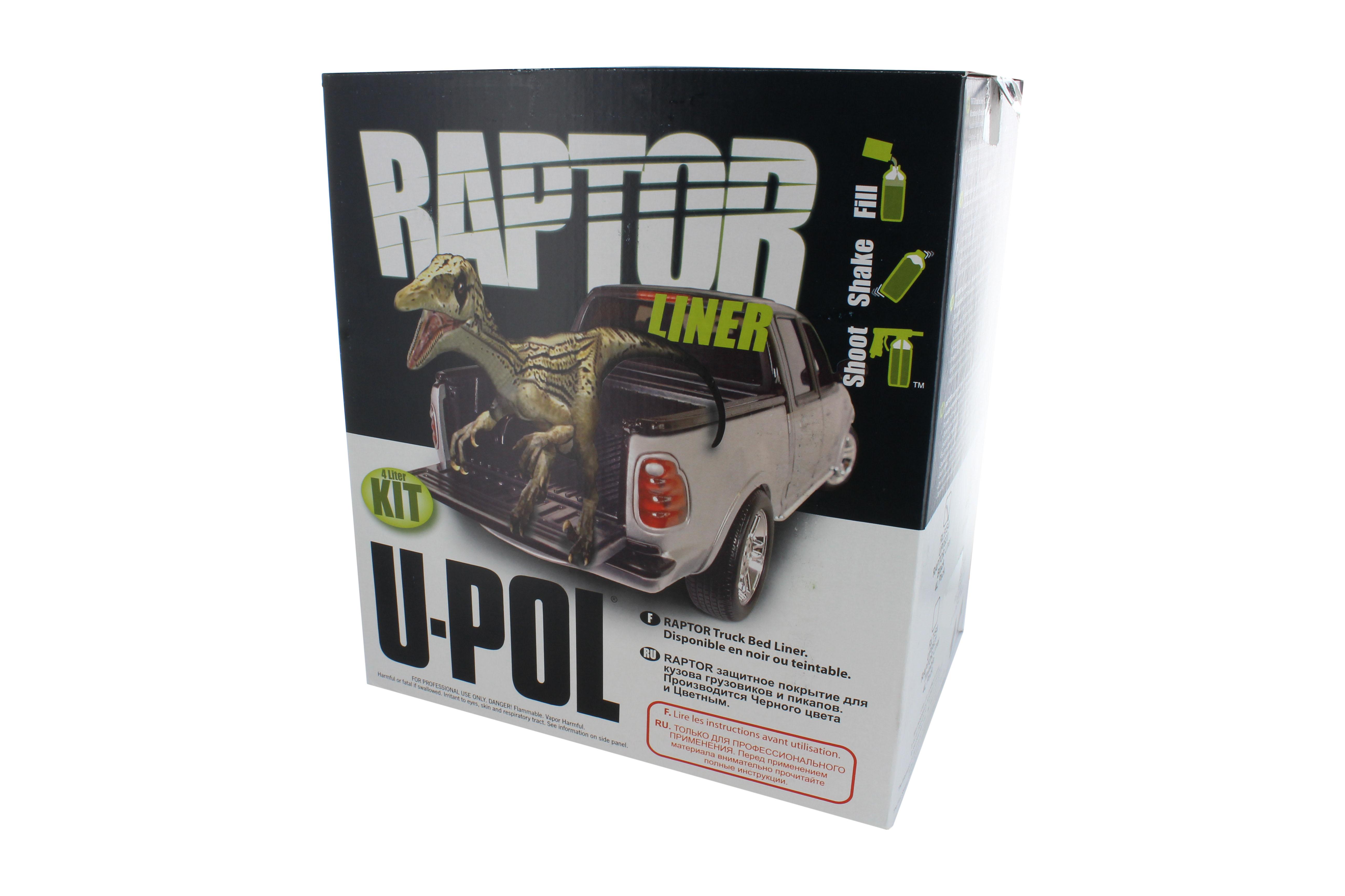 Raptor Tintable Truck Bed Liner 4 Liter Kit Upol 844825091894 Ebay