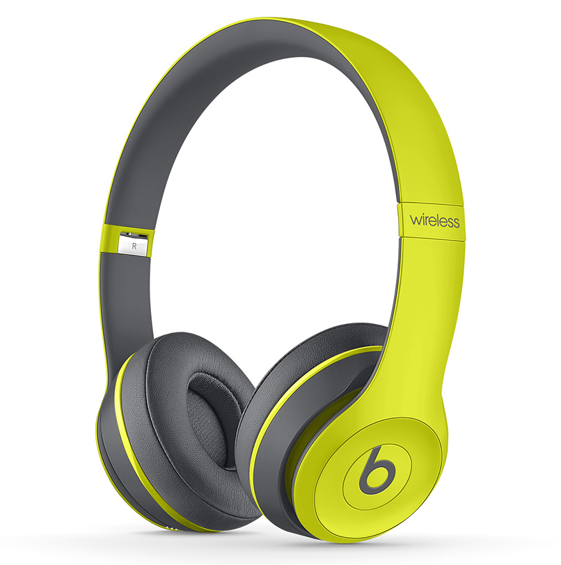 beats solo 2 wireless on ear headphones by dr dre active red blue yellow ebay. Black Bedroom Furniture Sets. Home Design Ideas