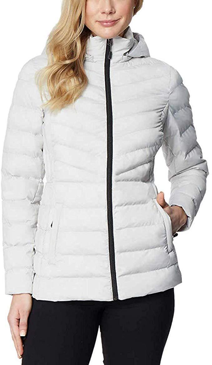 32 Degrees Heat Women's Hooded 4-Way Stretch Jacket