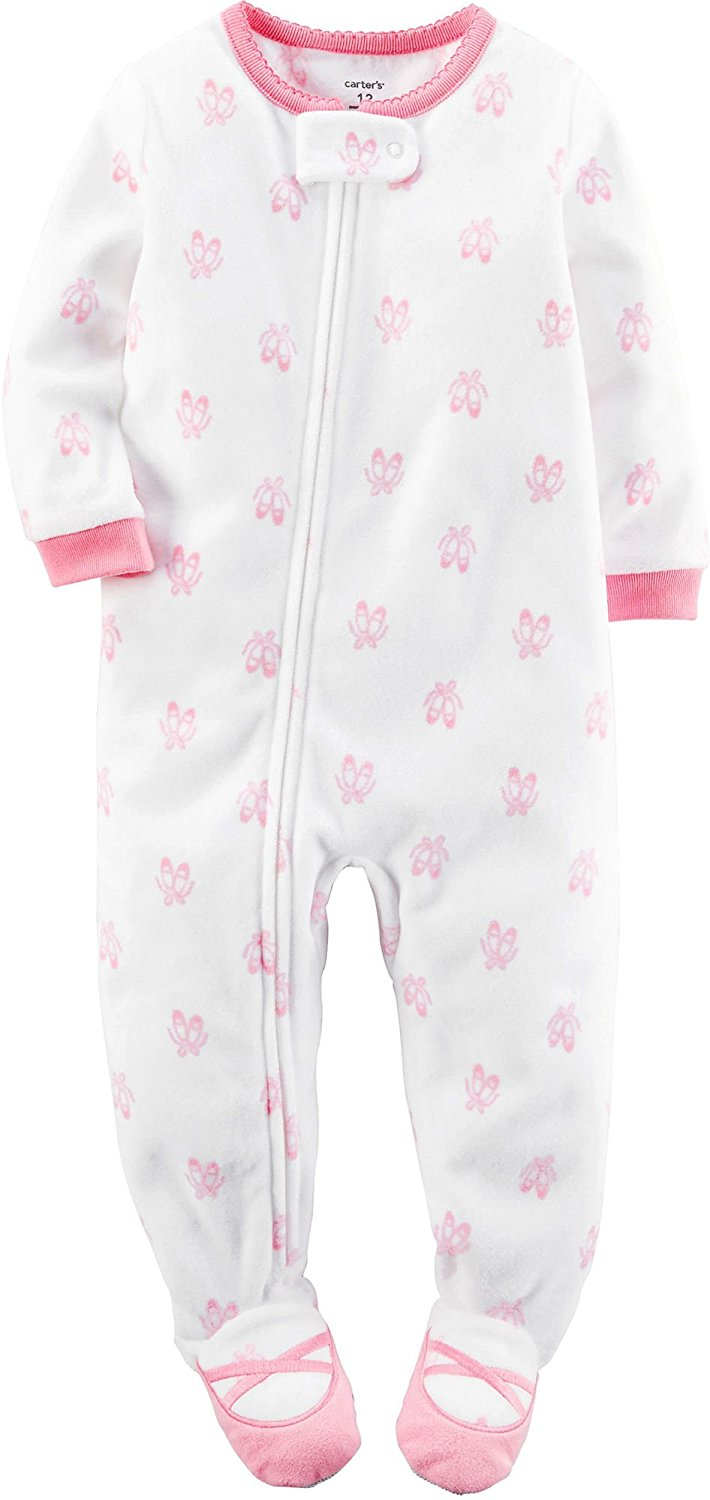 Baby Pajamas. Sweeten baby's wardrobe with pajamas for a comfortable, wonderful slumber. Piece together a collection of adorable baby pajamas that help keep baby cozy, warm and safe, then grab a few extra pairs because there's simply no such thing as too many! Looking for baby girl pajamas?