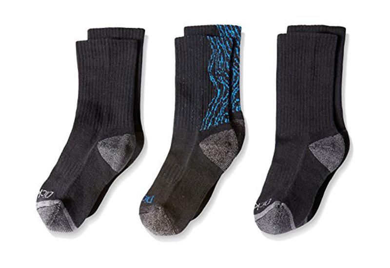 Dickie-039-s-Boys-039-3-Pairs-Wood-Print-Crew-Socks thumbnail 9