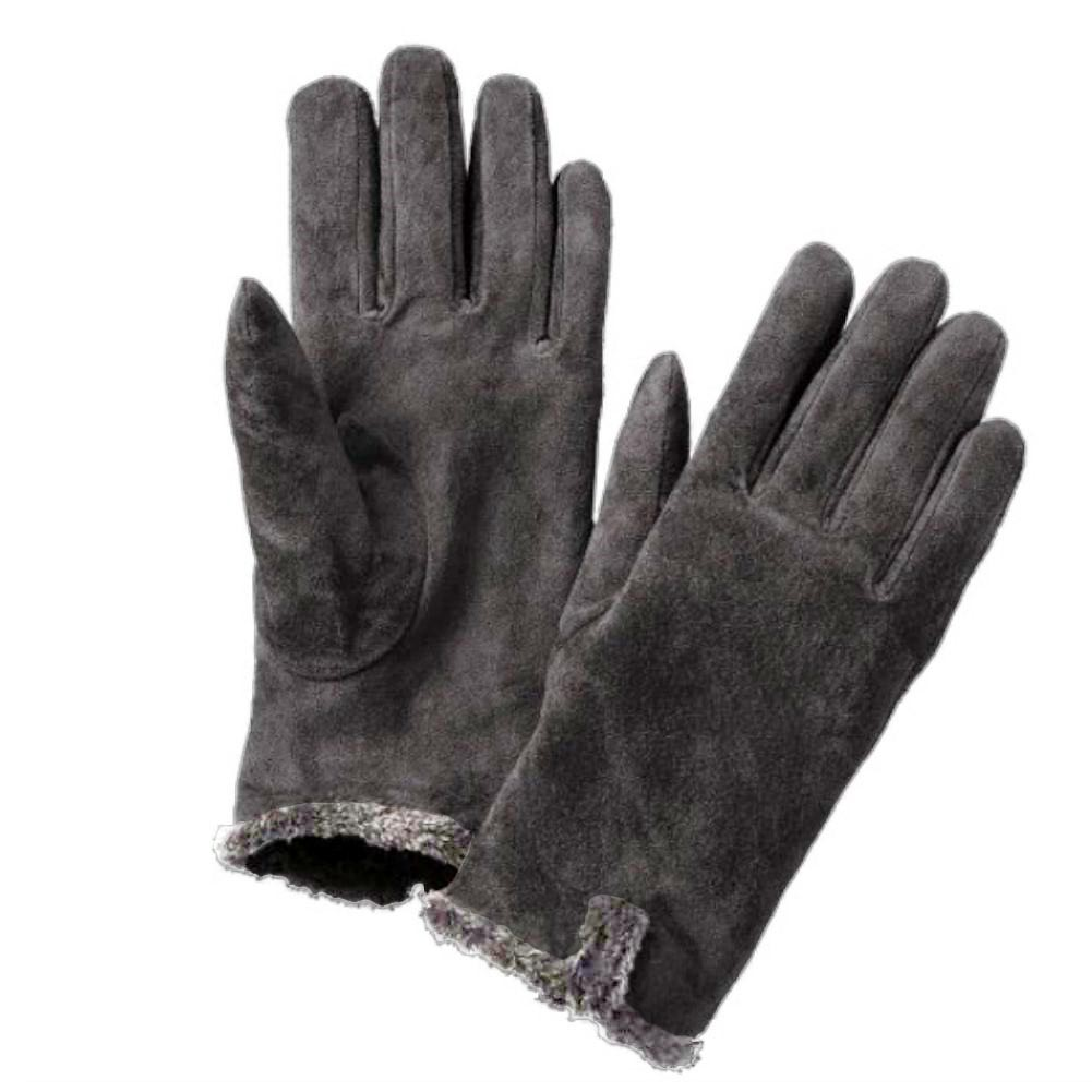 Ladies leather gloves isotoner - Picture 4 Of 4