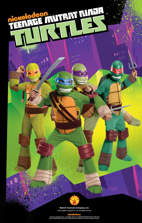 Teenage Mutant Ninja Turtle Deluxe Costume
