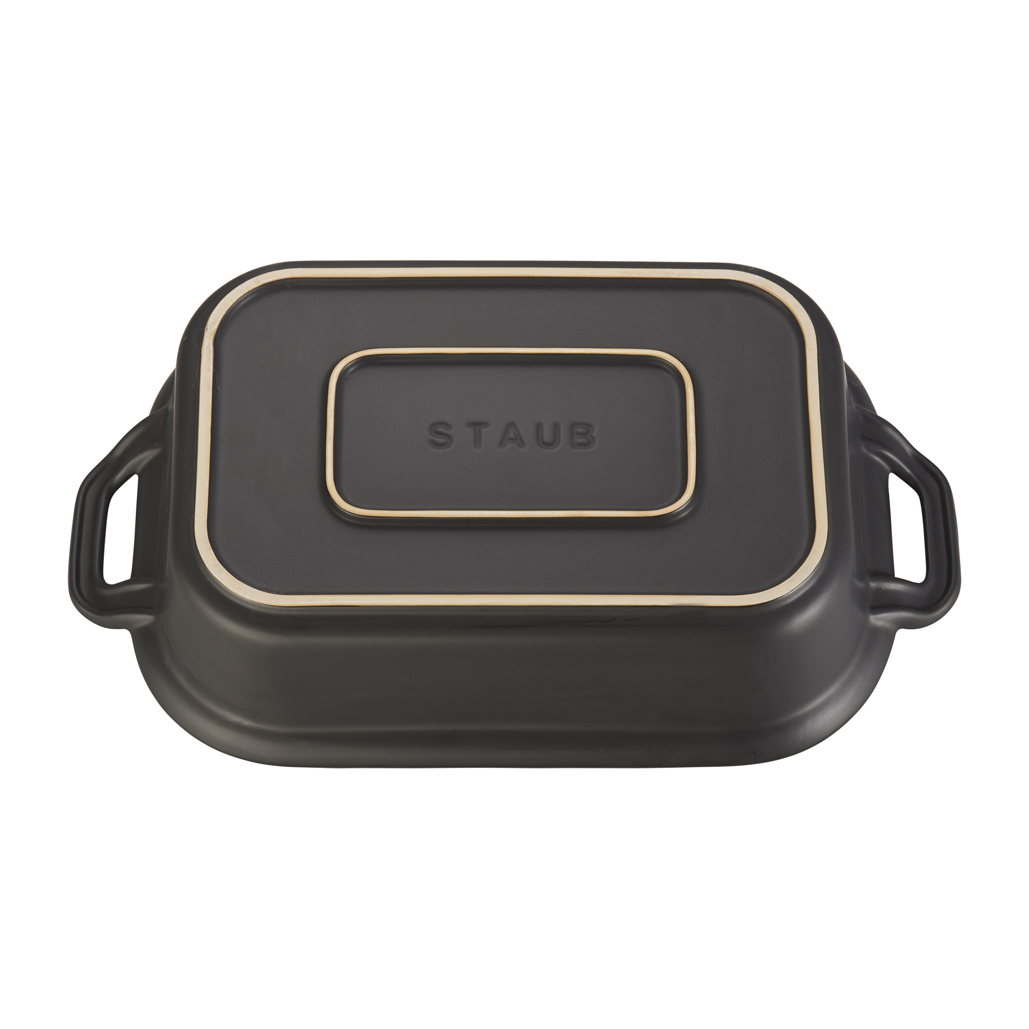 Staub Ceramic 12 Inch X 8 Inch Rectangular Covered Baking