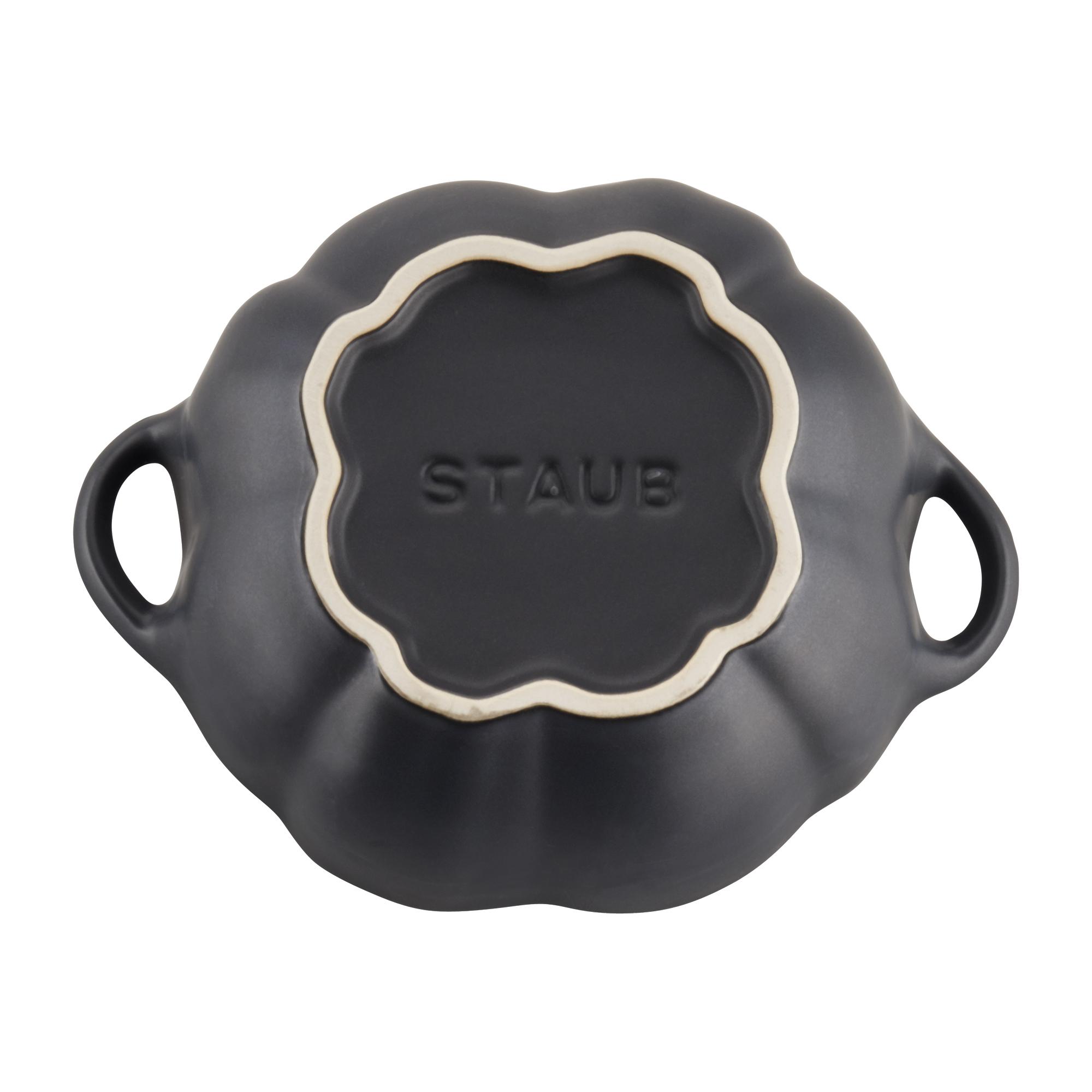 Staub-Ceramic-16-oz-Petite-Pumpkin-Cocotte thumbnail 15