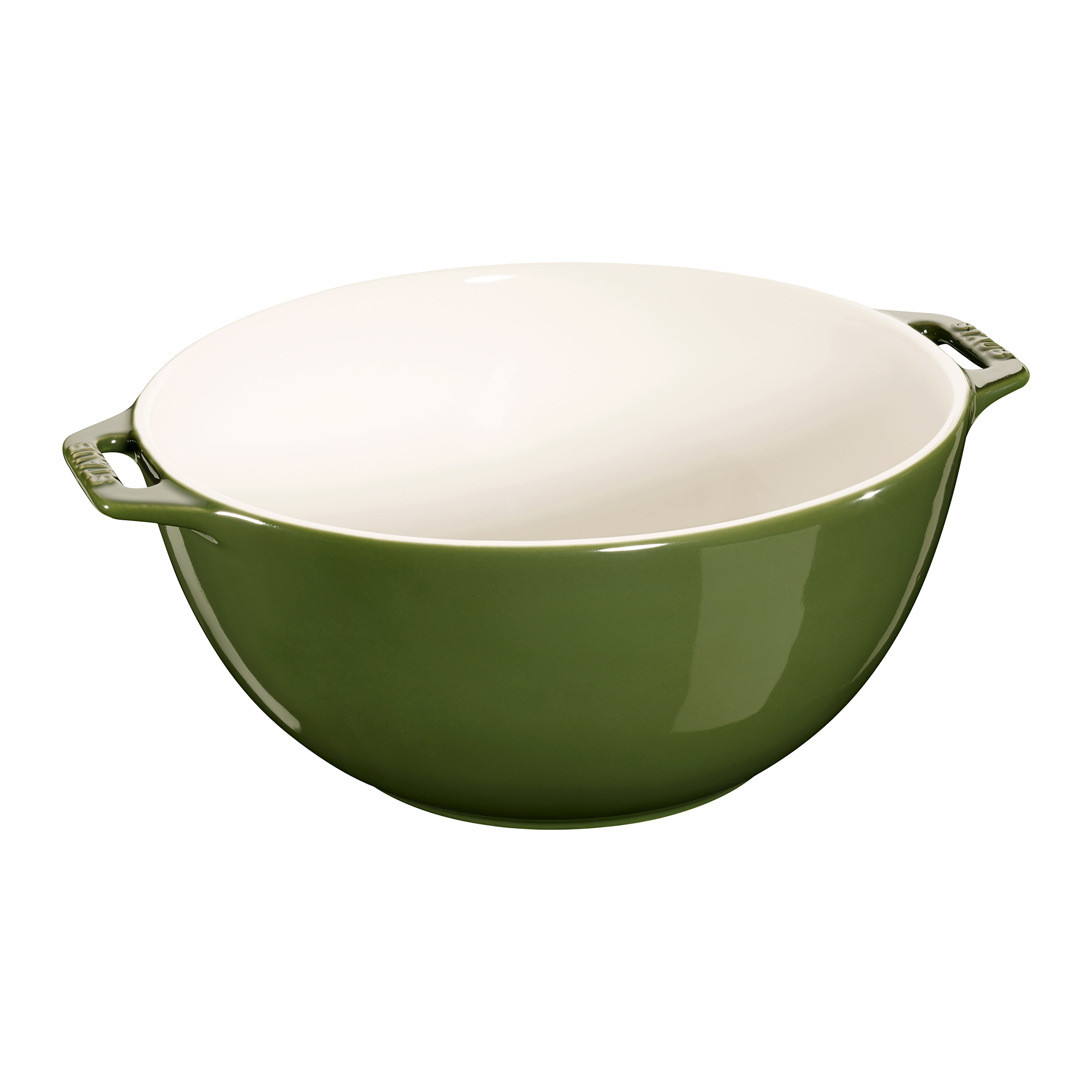 Staub Ceramic 9.5-inch Large Serving Bowl - Basil
