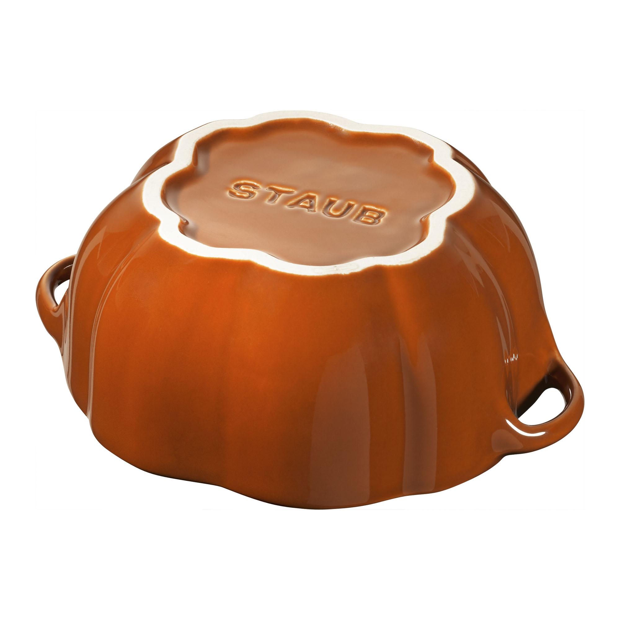 Staub-Ceramic-16-oz-Petite-Pumpkin-Cocotte thumbnail 9