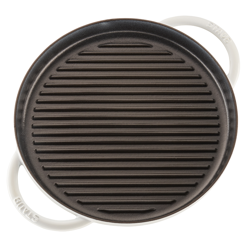 Staub-Cast-Iron-12-inch-Round-Steam-Grill thumbnail 16